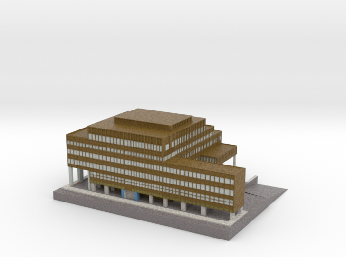 Old House 3d printed