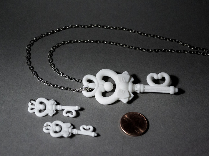 Sailor Moon Key Of Time 2.5in 3d printed