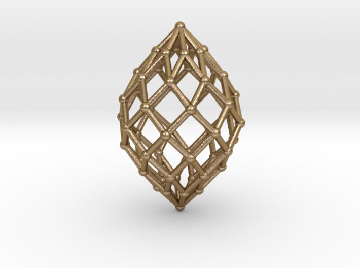 0515 Polar Zonohedron V&E [8] #002 3d printed