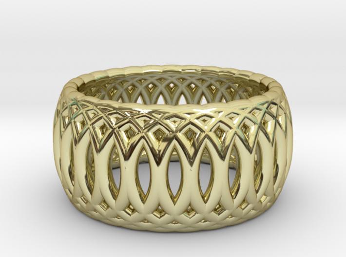 Ring of Rings - 16.1mm Diam 3d printed
