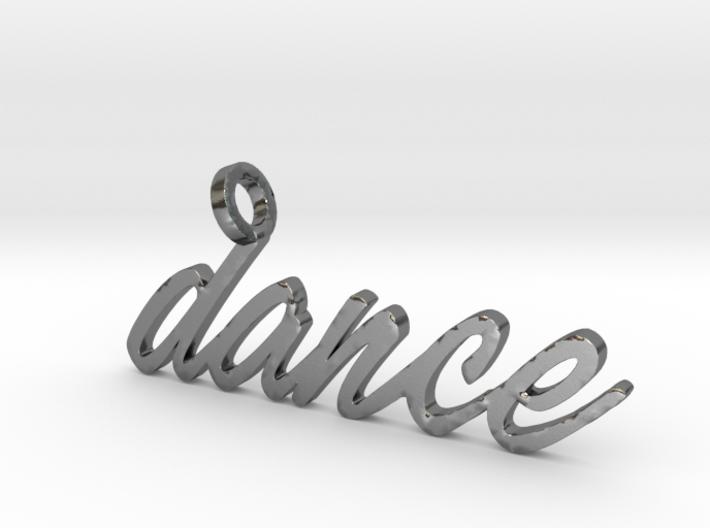 Dance Pendant-DANCE 3d printed
