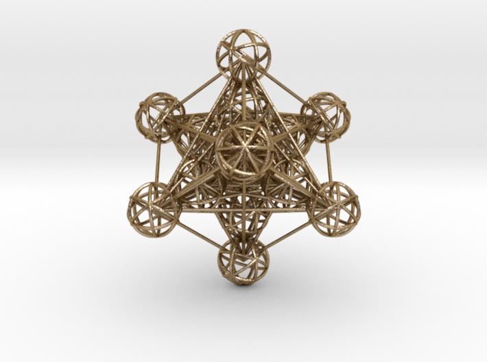 3D Metatron's Cube (large) 3d printed
