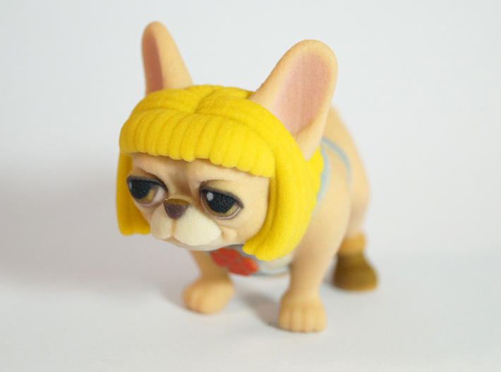 He-Man Frenchie 3d printed