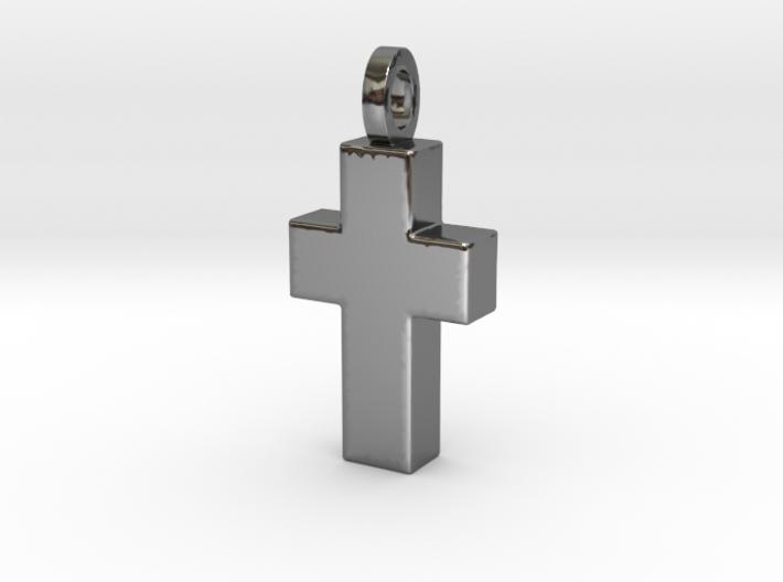 Cross for Pablo (Cruz) 3d printed