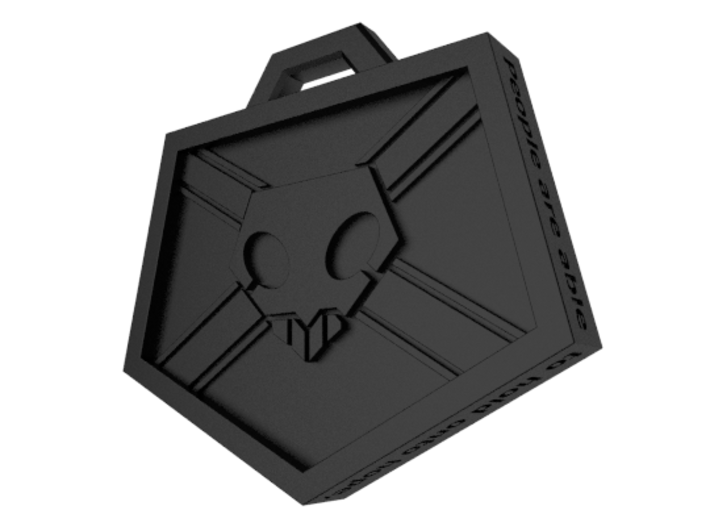Soul Reaper Badge 3d printed Rendering