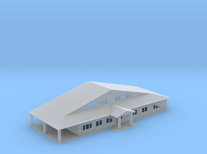 Truss Manufactor Building Z Scale 3d printed Main Truss Office building Z scale