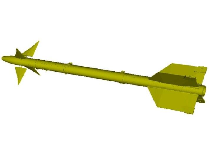 1/18 scale Raytheon AIM-9L Sidewinder missile x 1 3d printed