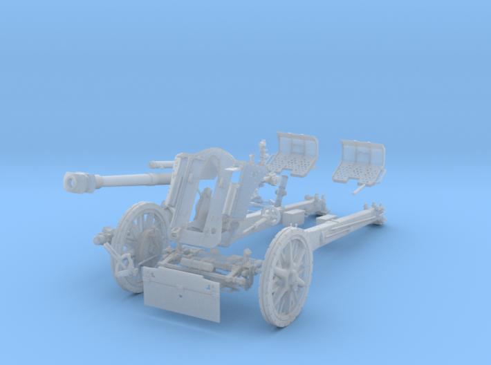 """GA002 leFH18M """"Howitzer"""" 10.5 cm 28mm wargames 3d printed"""