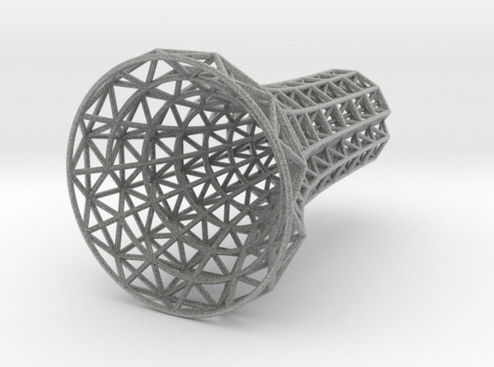 Space Frame Candlestick 3d printed