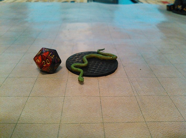 Constrictor Snake 3d printed