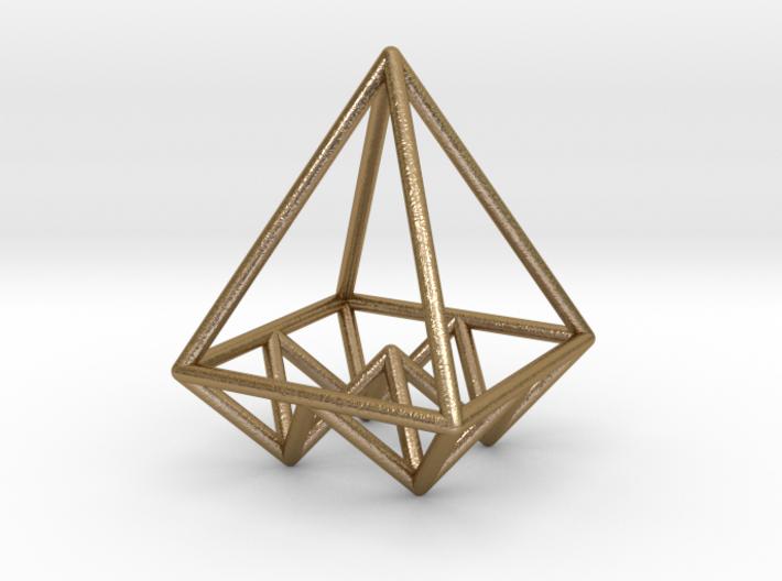 Pyramids Pendant 3d printed