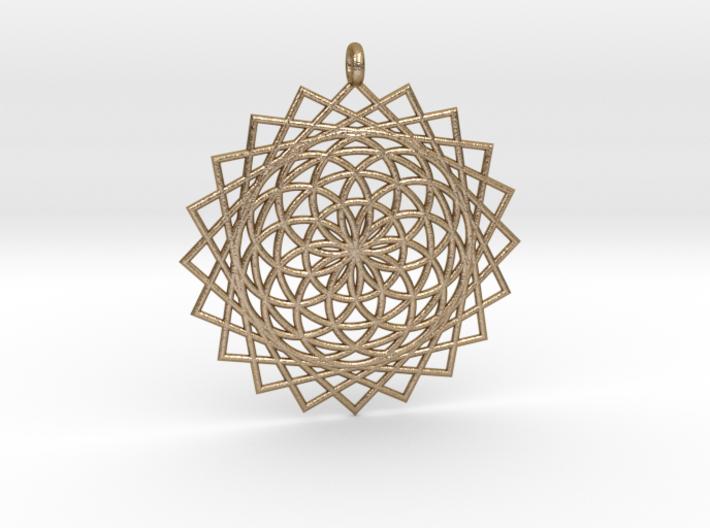 Flower of Life - Pendant 5 3d printed