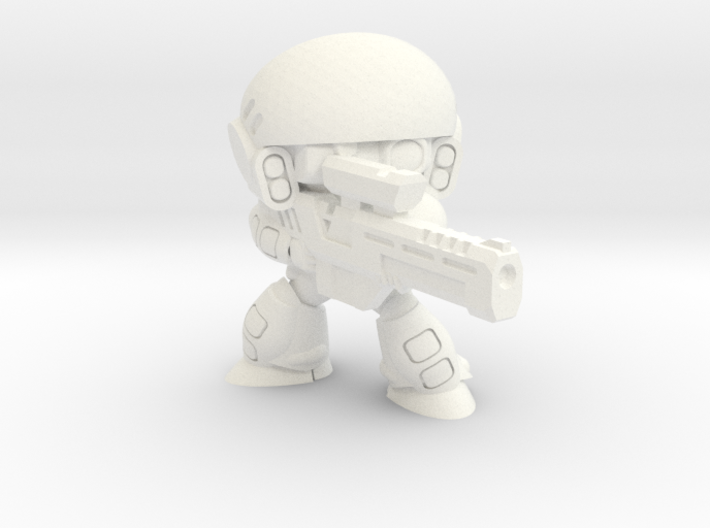 COLONIAL INFANTRY SNIPER 3d printed