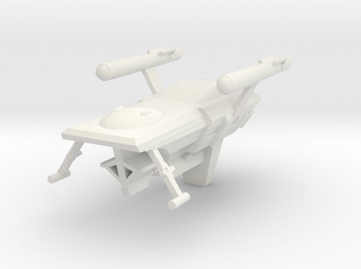 Huron, 1:3788 Scale 3d printed