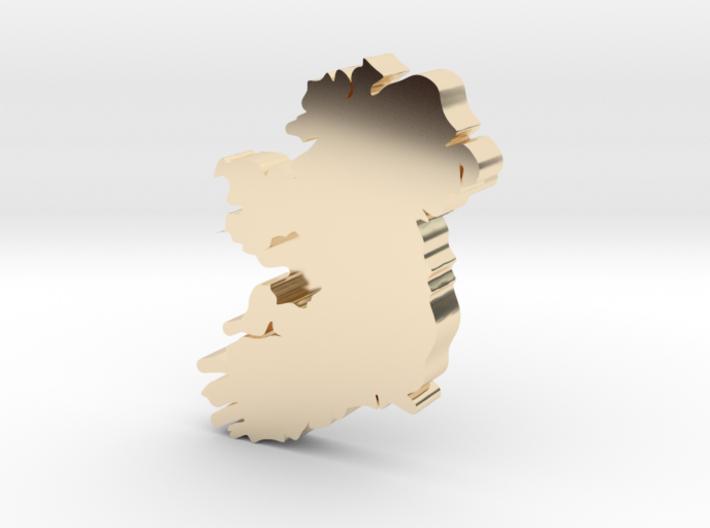 Galway Earring 3d printed