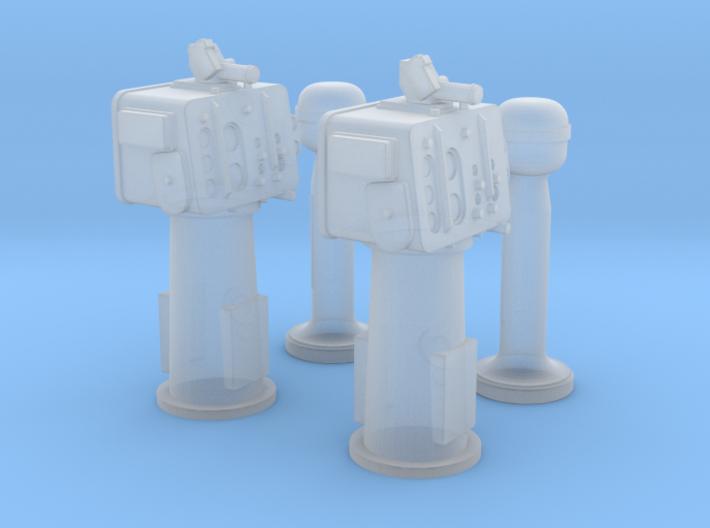 1/144 Torpedo Directors & Peloruses 3d printed