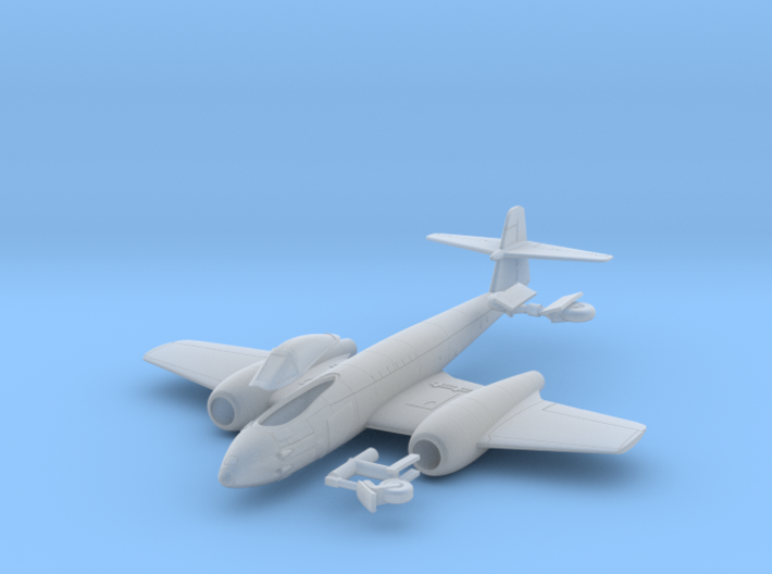 029A Gloster Meteor F.8 1/144 3d printed