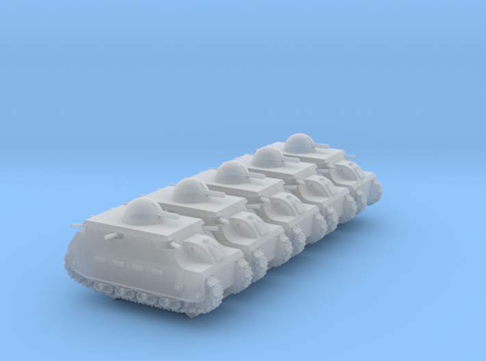 Fiat 2000 (6mm, 5-up) 3d printed