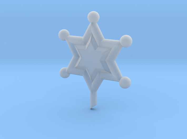 Outer Senshi Star 3d printed