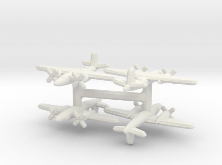 Martin B-26 Marauder (1/900) x4 3d printed