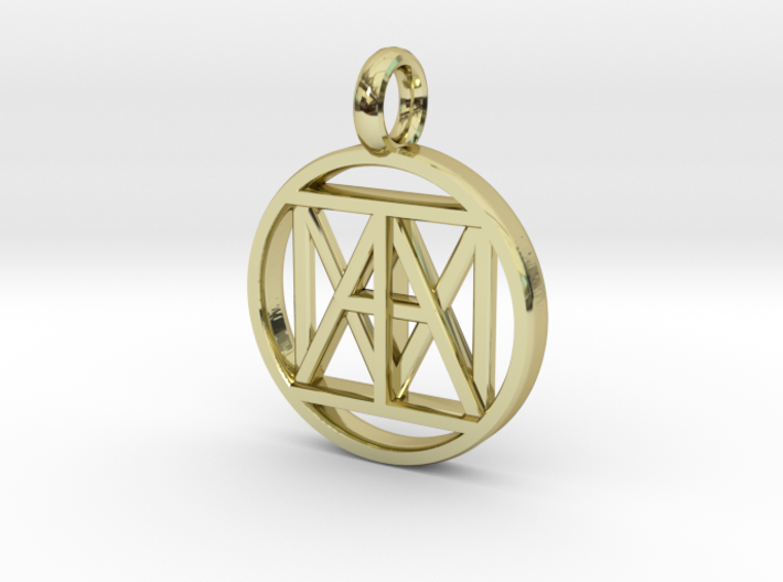"""United """"I AM"""" 3D 21mm Nickel size 3d printed"""