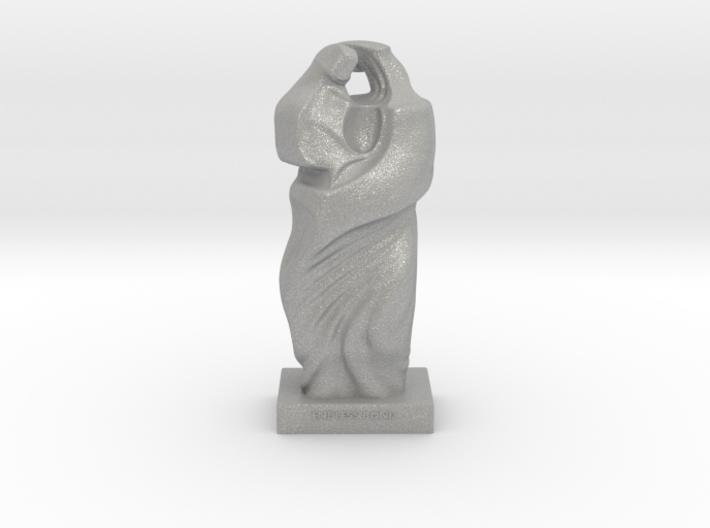 Mother Child Sculpture 3d printed