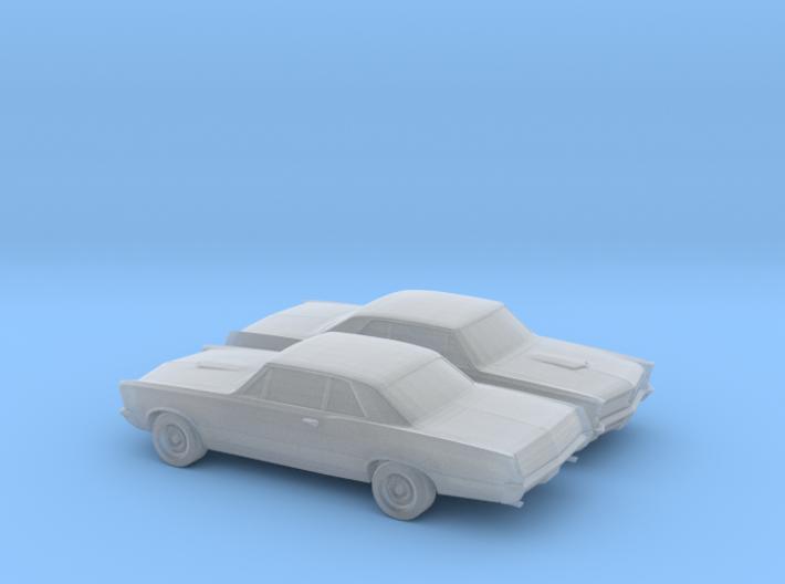 1/200 2X 1965 Pontiac GTO 3d printed