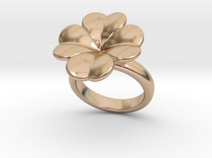 Lucky Ring 20 - Italian Size 20 3d printed