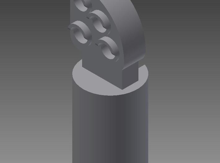 Dværgsignal_1:160_N_test *49 3d printed front