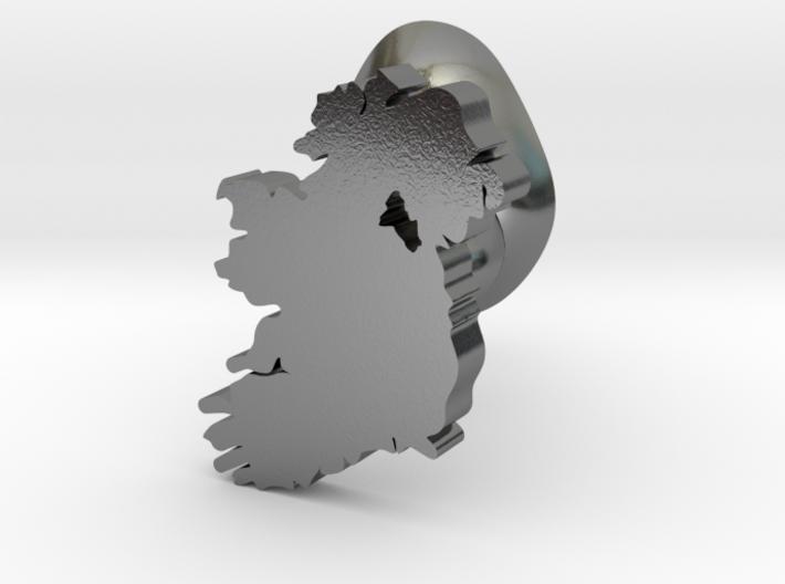 Monaghan cufflink 3d printed