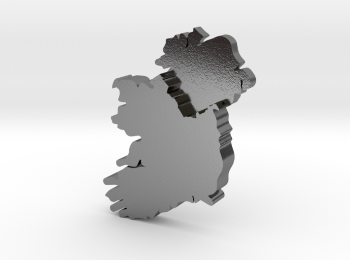 Ulster Earring 3d printed