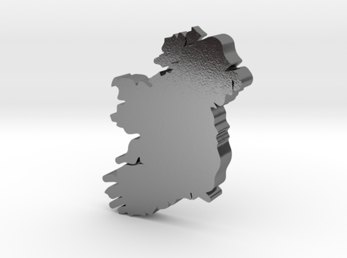 Donegal Earring 3d printed