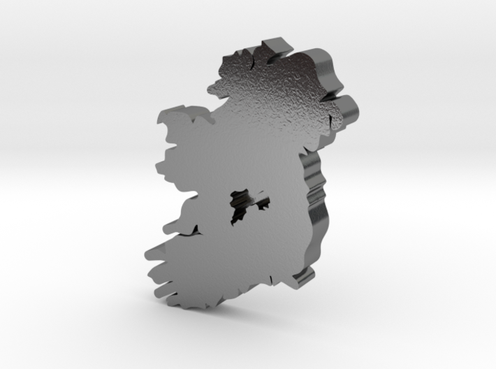 Offaly Earring 3d printed
