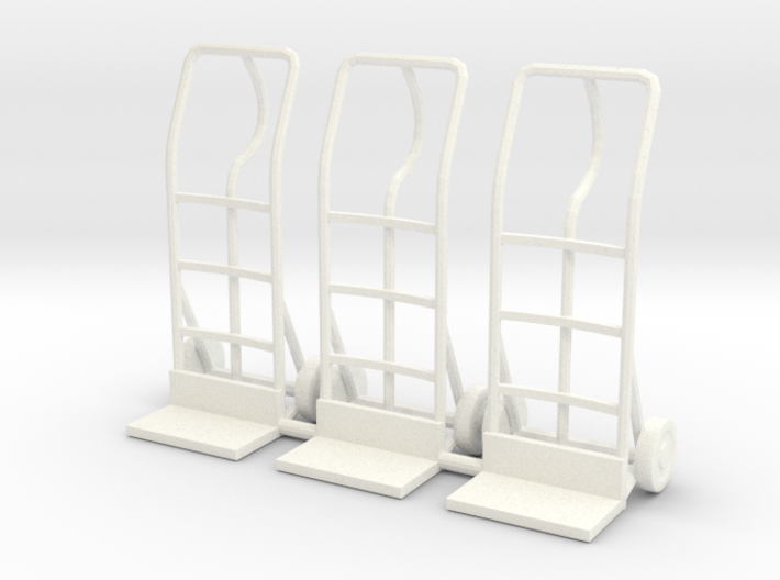 Hand truck 01. 1:24 Scale 3d printed