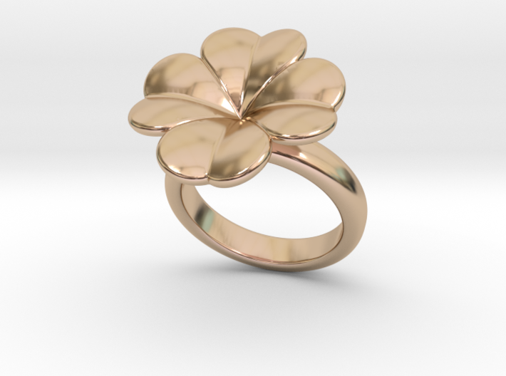 Lucky Ring 23 - Italian Size 23 3d printed