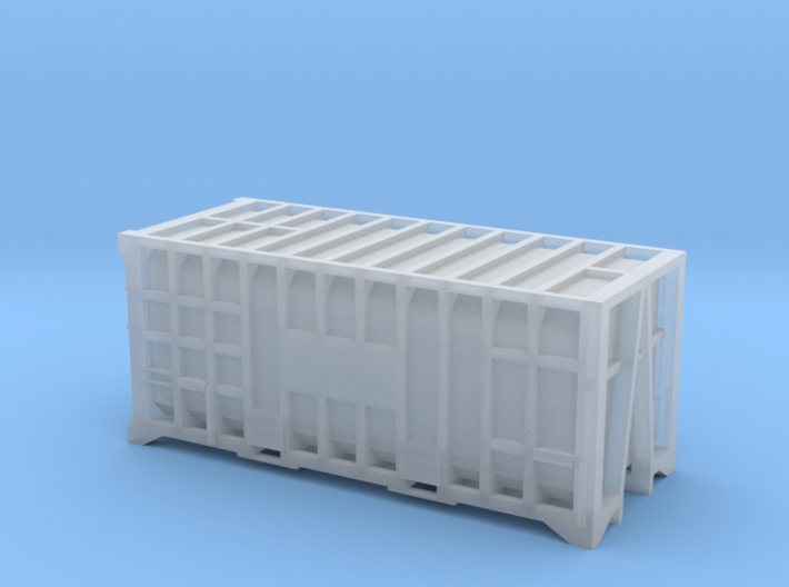 20 Waste Container Manchester (N Gauge 1:148) 3d printed