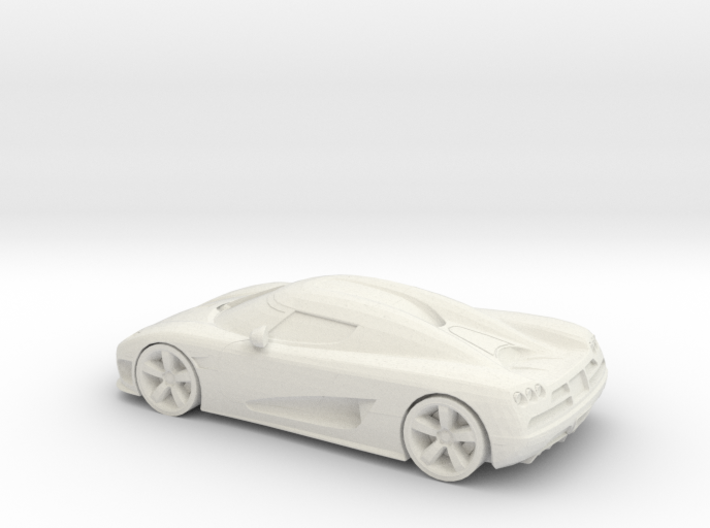 1/87 Koenigsegg 3d printed