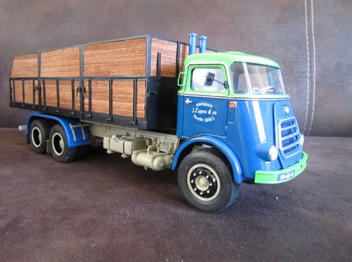 DAF2-JZ-1to24 3d printed (Jabbeke 2016) Contest winning DAF truck built by J. Zagers (NL)