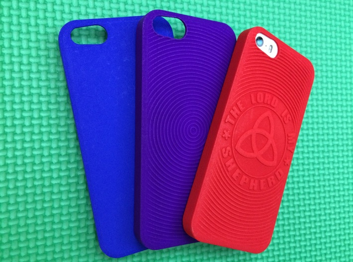 PS.23 Case - Plain ( iPhone 5, 5S & SE ) 3d printed