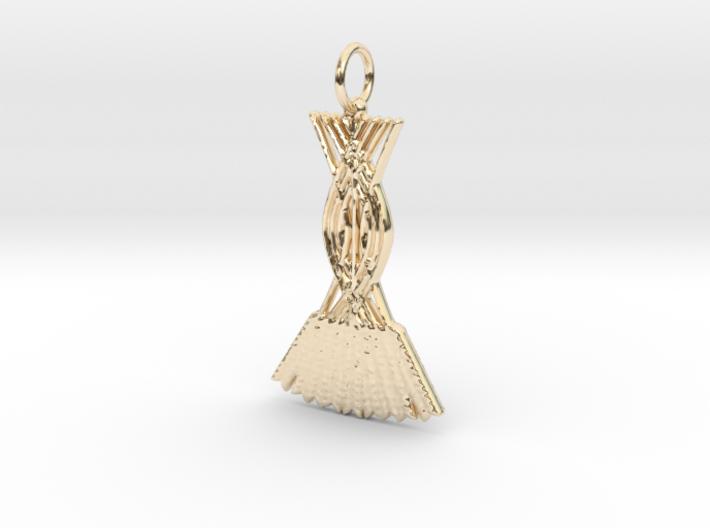 Kornknýti Freys - a bundle of corn for Freyr 3d printed