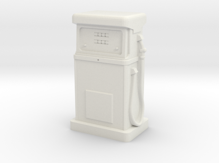 35mm Gauge - 1980's Petrol Pump 3d printed