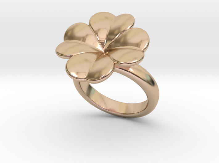 Lucky Ring 26 - Italian Size 26 3d printed