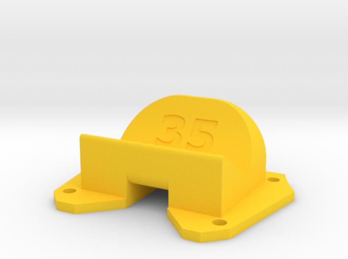 Birdseye KillerBEE - 35° Action Cam Mount 3d printed