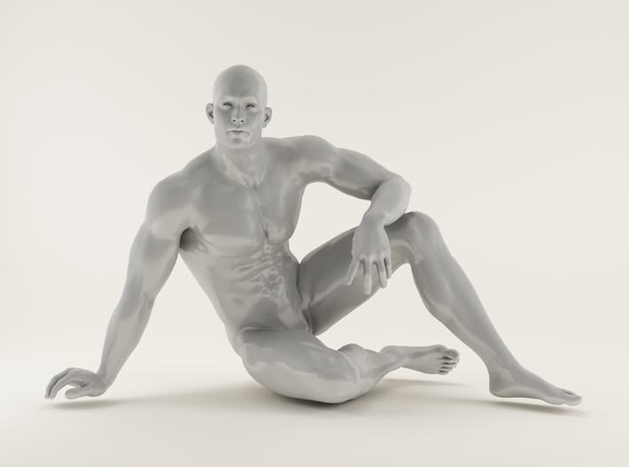 2016026-Strong man scale 1/10 3d printed