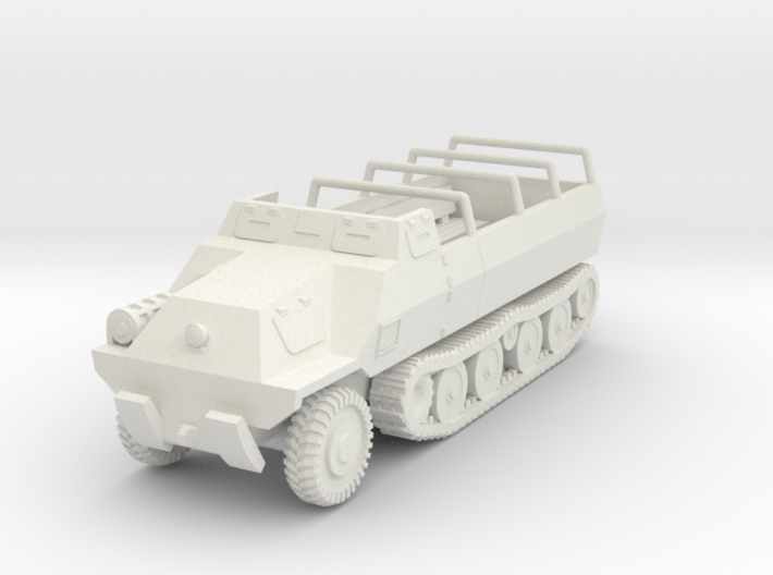 Vehicle- Type 1 Ho Ha (1/100th) 3d printed