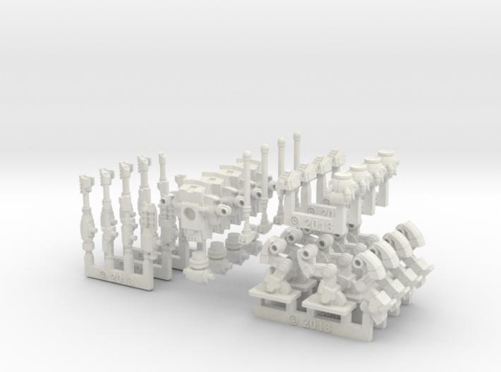1/285 Marcovian Medium Battle Squire Troop 3d printed