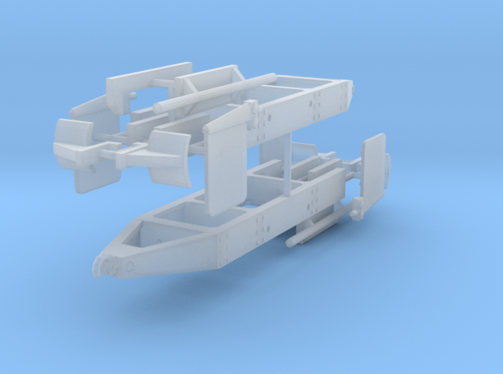 1/64th Log truck end frame 1 with details (2) 3d printed