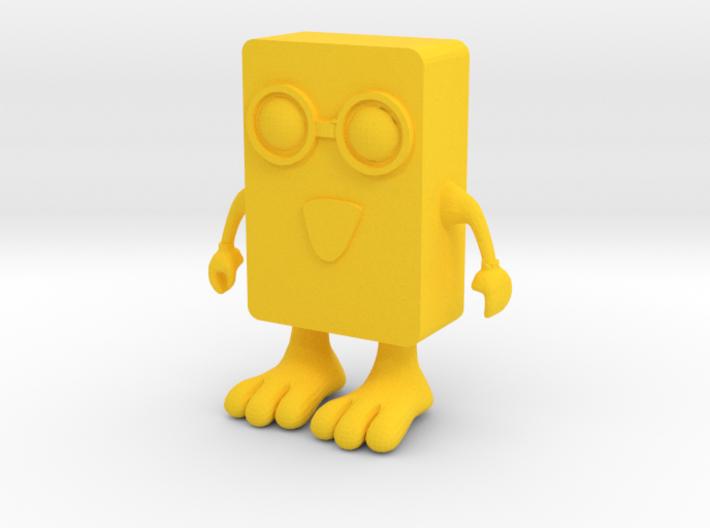 Spongebob-Toy 3d printed