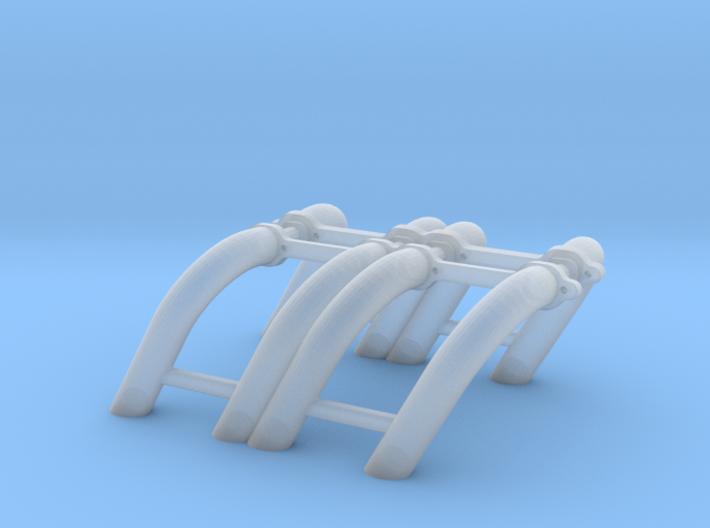 1/32 SBC Zoomie Headers 3d printed