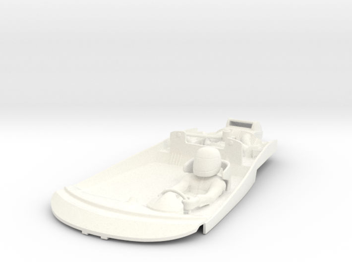 S09-SA1 Cockpit for Scalextric McLaren GT 3d printed
